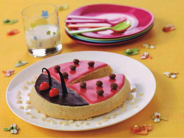 recette de gâteau coccinelle : la recette facile