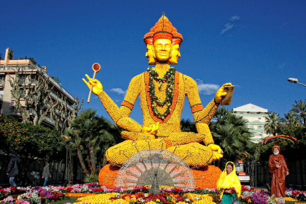 2007 : Menton célèbre l'Inde