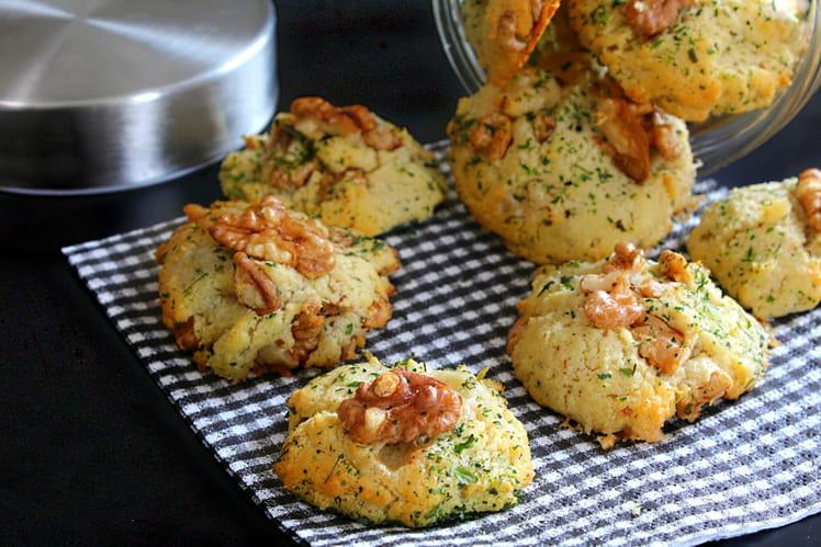 recette de cookies sal s gorgonzola noix la recette facile. Black Bedroom Furniture Sets. Home Design Ideas
