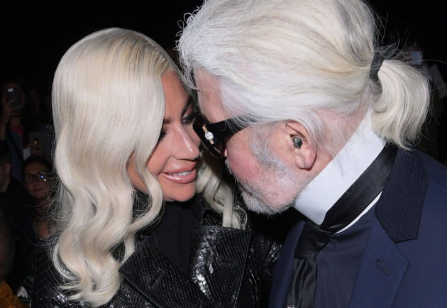 Lady Gaga, sous le charme de Karl Lagerfeld