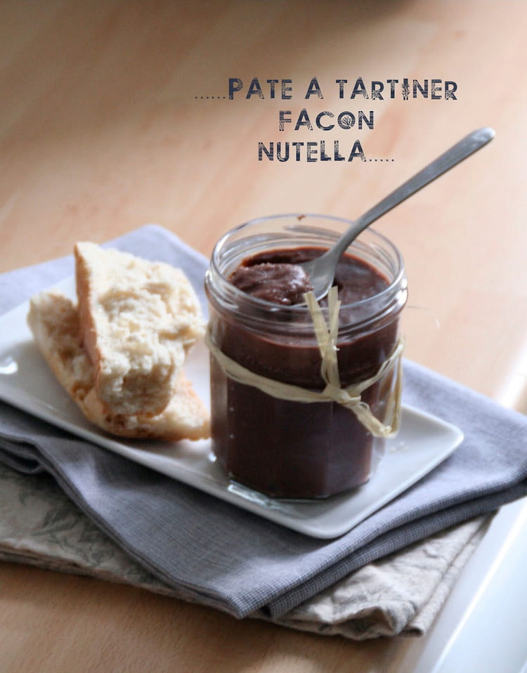 recette de p 226 te 224 tartiner fa 231 on nutella maison la recette facile