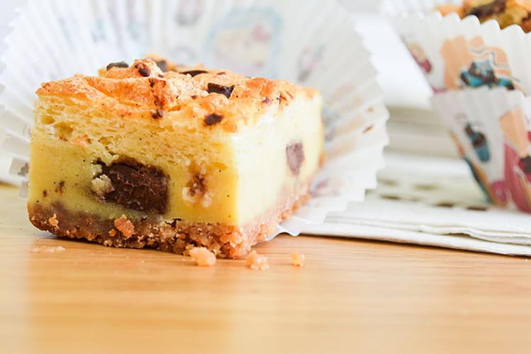 Gâteaux magiques vanille et chocolat
