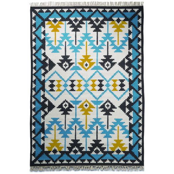 Tapis Dinspiration Amérindienne - Carrelage salle de bain et tapis amérindien
