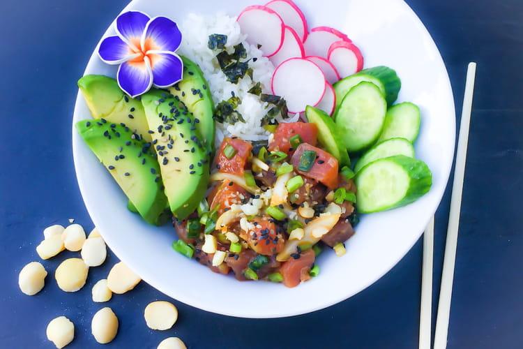 Salade Poke de Thon Hawaïen