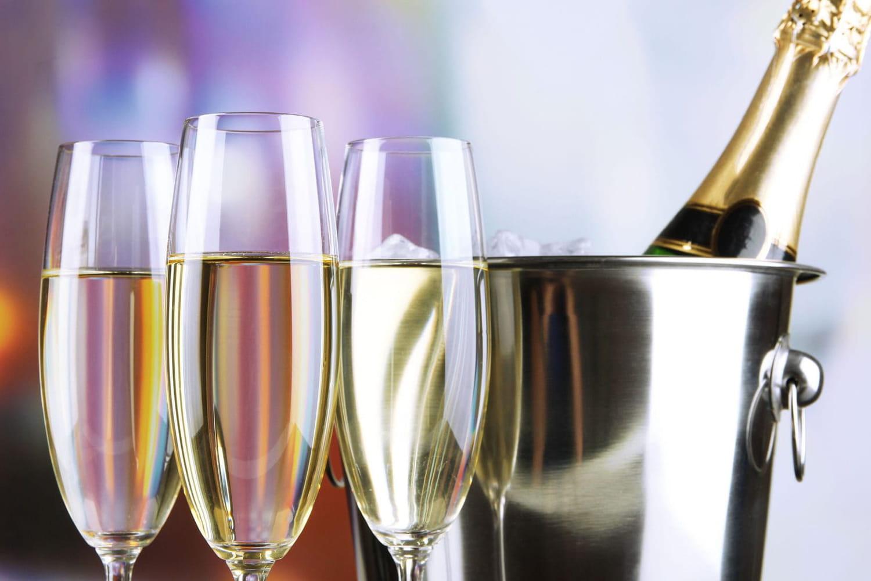 Comment refroidir rapidement une bouteille de champagne ?