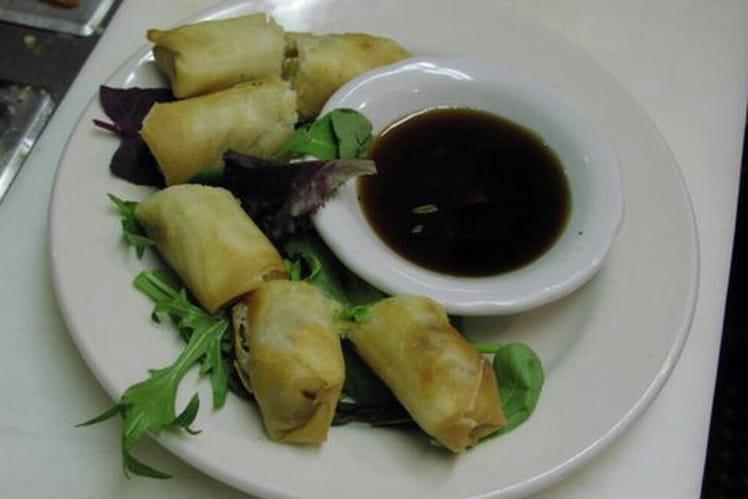 Crêpes chinoises aux légumes