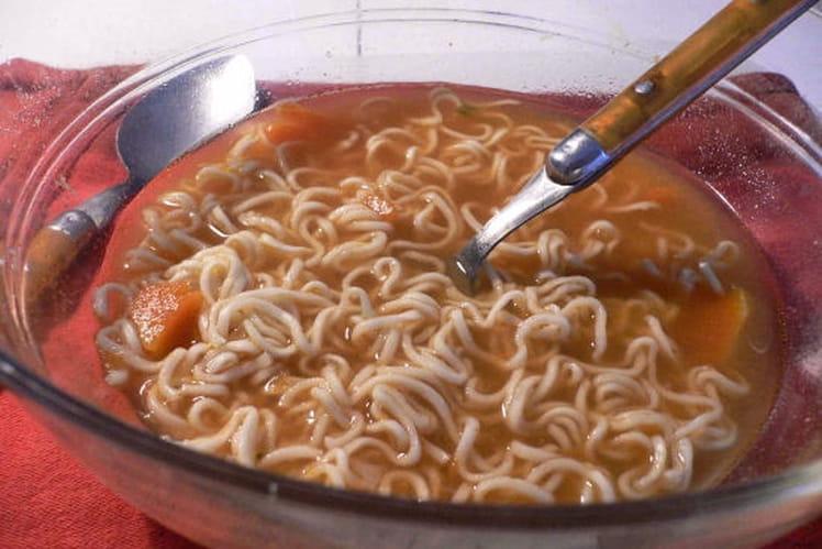 Soupe de potiron au curry et au lait de coco