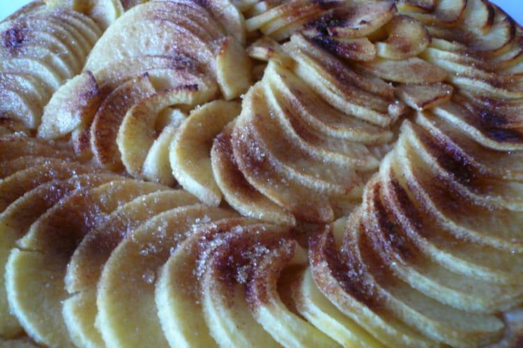 Tarte fine aux pommes