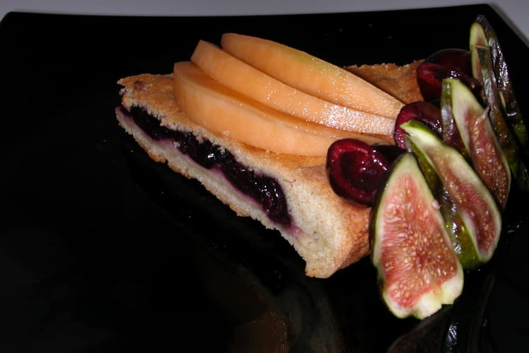 Gâteau basque au Itxassou