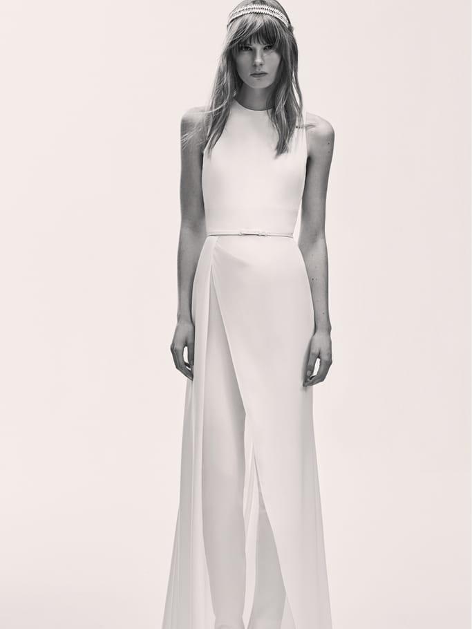 Une robe de mariée élégante