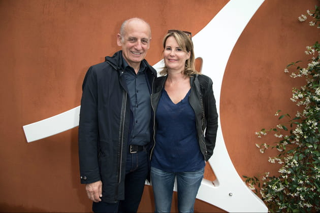 Jean-Michel Apathie et sa femme Stéphanie
