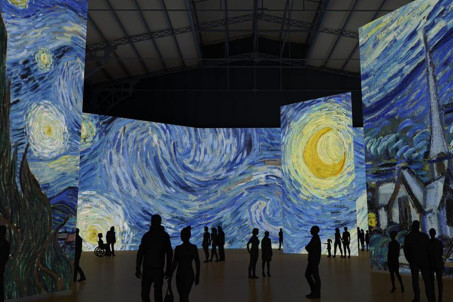 Imagine Van Gogh: une expo' interactive en hommage au maître