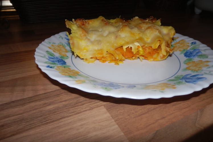 Lasagne au potimarron