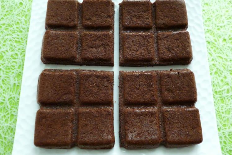 Fondant cacao coco pomme pruneau, végan, sans gluten