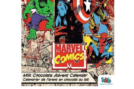 Calendrier de l'Avent Marvel Comics aux Galeries Lafayette