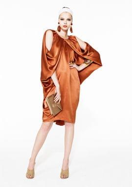 la robe d'yves saint laurent