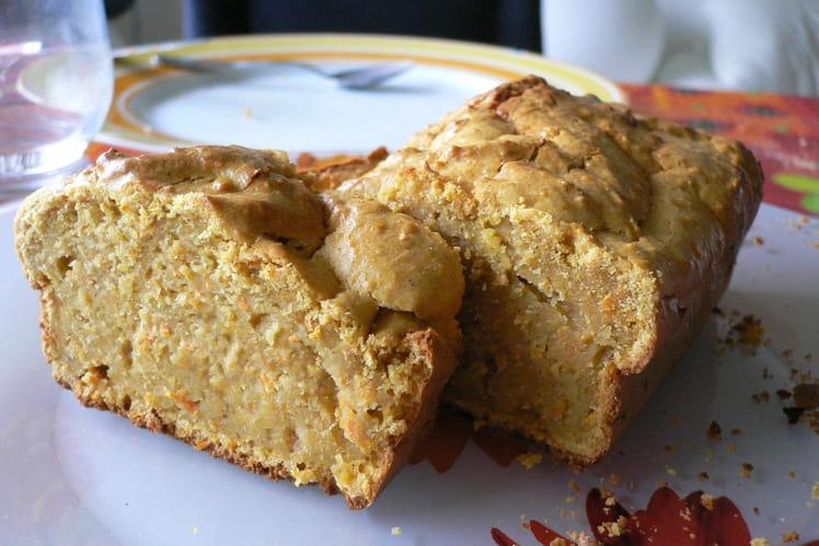 Cake carottes-noisettes