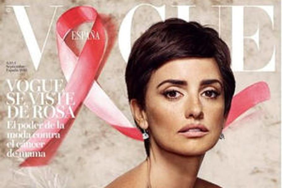 Penélope Cruz, cheveux courts pour Vogue Espagne