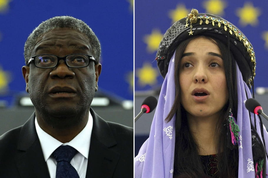 Prix Nobel de la Paix: qui sont Denis Mukwege et Nadia Murad?