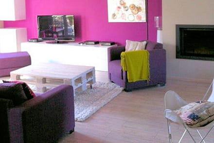 la couleur violet en d co nuances utilisation et association de couleurs. Black Bedroom Furniture Sets. Home Design Ideas