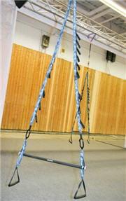 deux cordes, une barre en acier : fallait y penser !