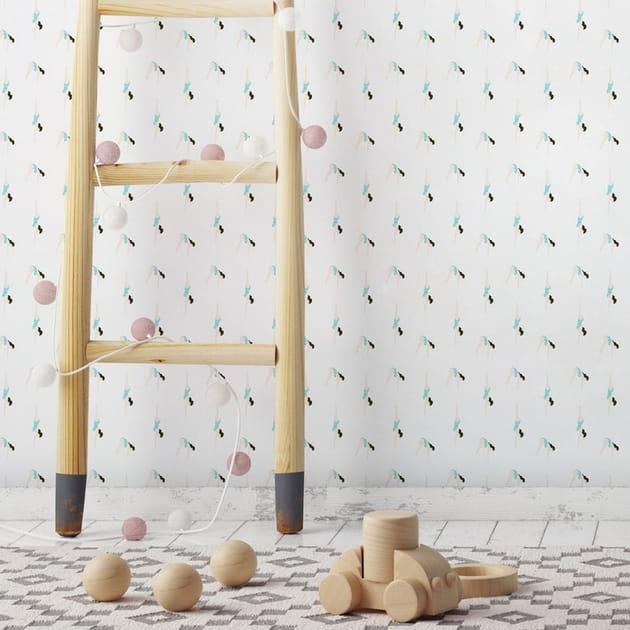 Papier peint Le Plongeon par Papermint