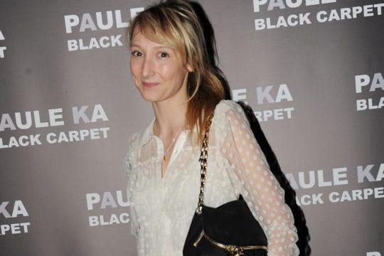 Audrey Lamy à la présentation de la collection Black Carpet de Paule Ka