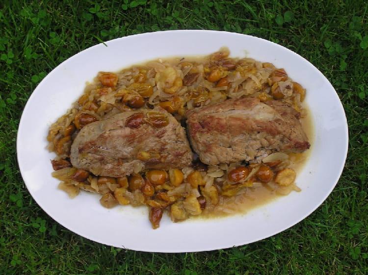 Recette de filet mignon de porc aux mirabelles la - Cuisiner filet mignon de porc ...