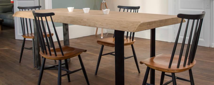 Table de salle manger choisir un mod le adapt for Table salle a manger qui se deploie
