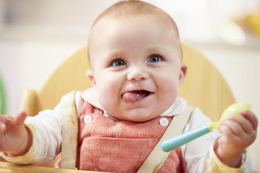 Alimentation du bébé à 5mois