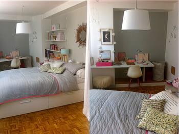 une chambre d 39 ado f minine. Black Bedroom Furniture Sets. Home Design Ideas