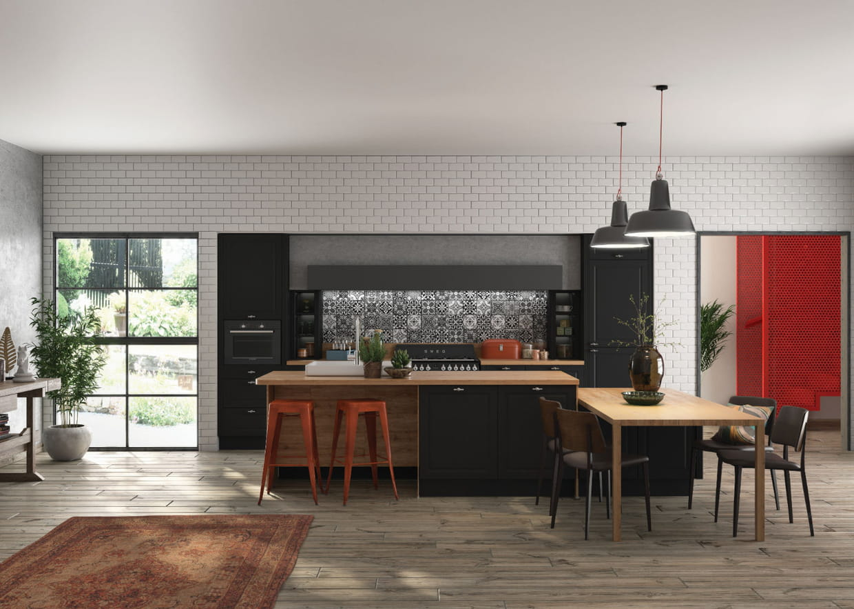 cuisine orna ixina. Black Bedroom Furniture Sets. Home Design Ideas