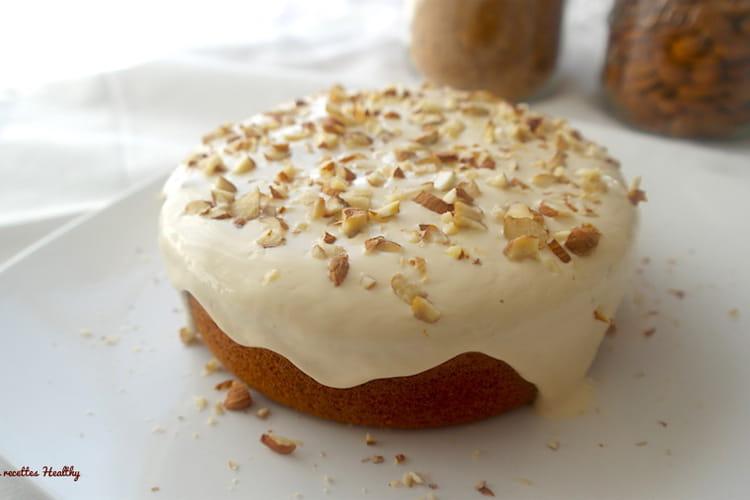 Gâteau à la citrouille sans beurre ni sucre raffiné