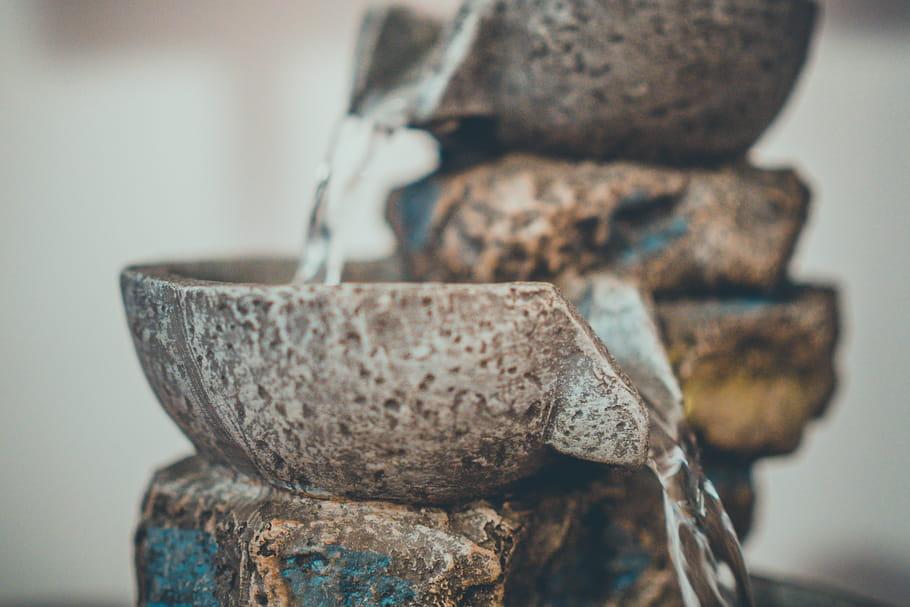 La fontaine d'intérieur, source inépuisable d'apaisement