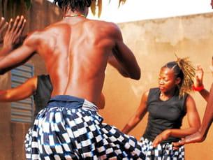 vibrez pour les tempos de la danse africaine
