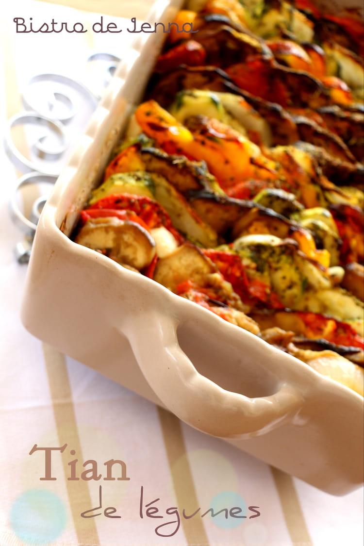 Recette Facile Du Tian Provencal tian de légumes de provence
