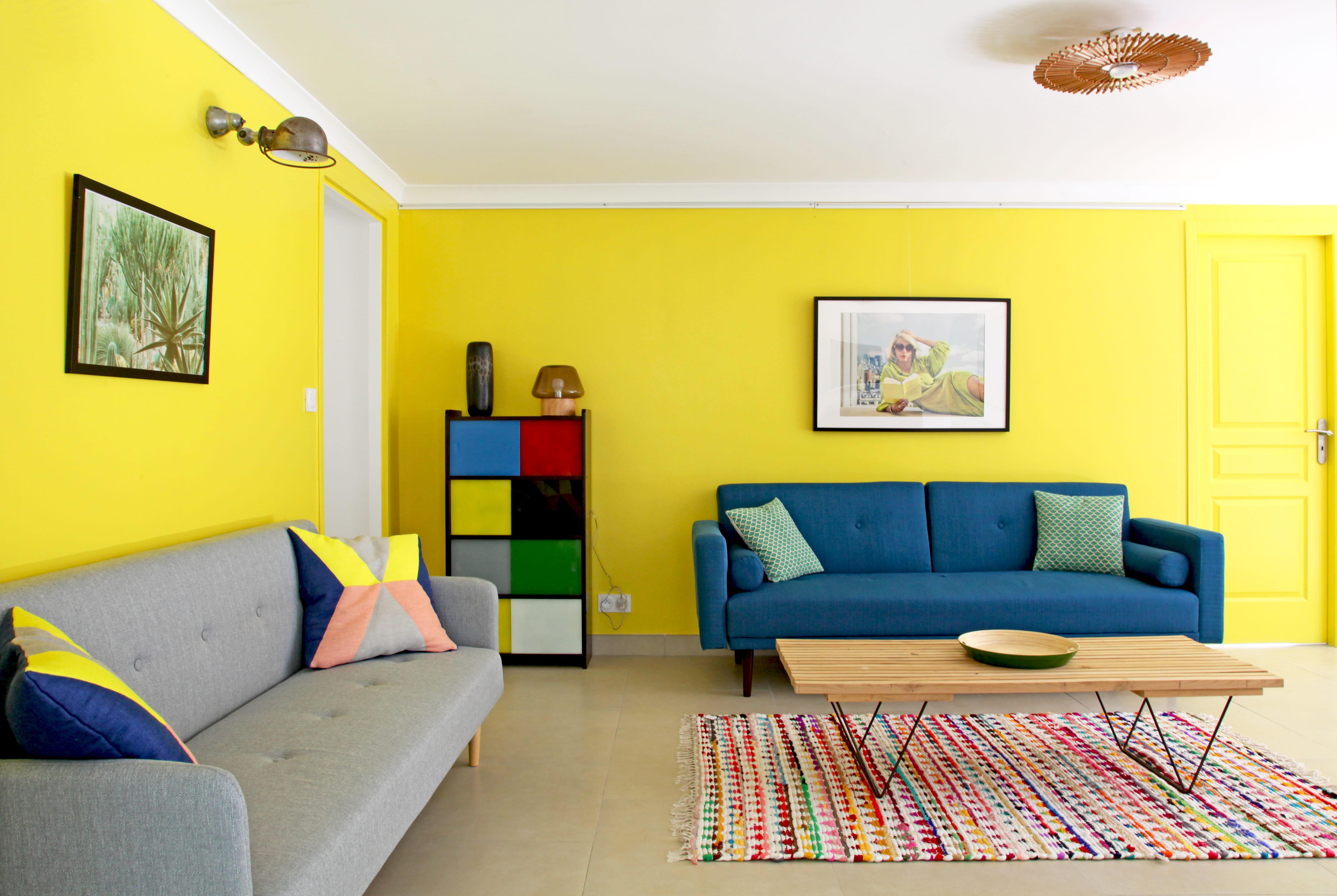 Deco Chambre Jaune Et Gris connaître la symbolique des couleurs en déco