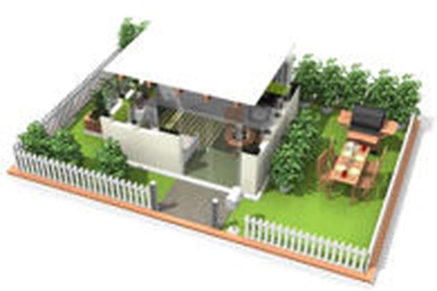 10 plans 3d de maisons sympas avec homebyme. Black Bedroom Furniture Sets. Home Design Ideas