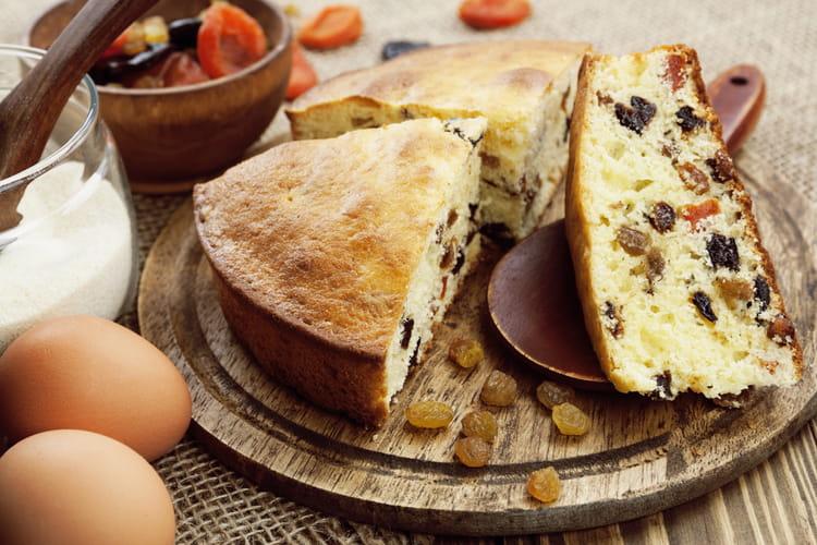 Gâteau de semoule aux fruits secs