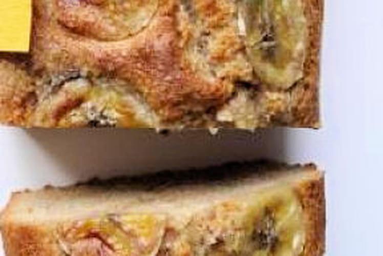 Cake moelleux banane et châtaigne