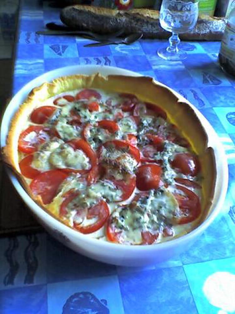 Recette de tarte au thon au bleu et au brie la recette - Cuisiner du thon en boite ...