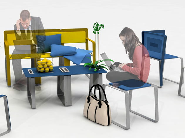 Le mobilier Plix du collectif IDfyx