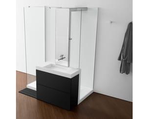 salle de bains shower basin de roca
