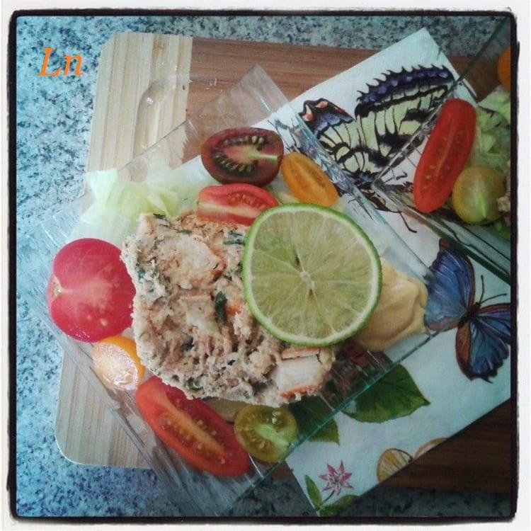 Recette de terrine de thon et crabe au surimi la recette - Cuisiner du thon en boite ...
