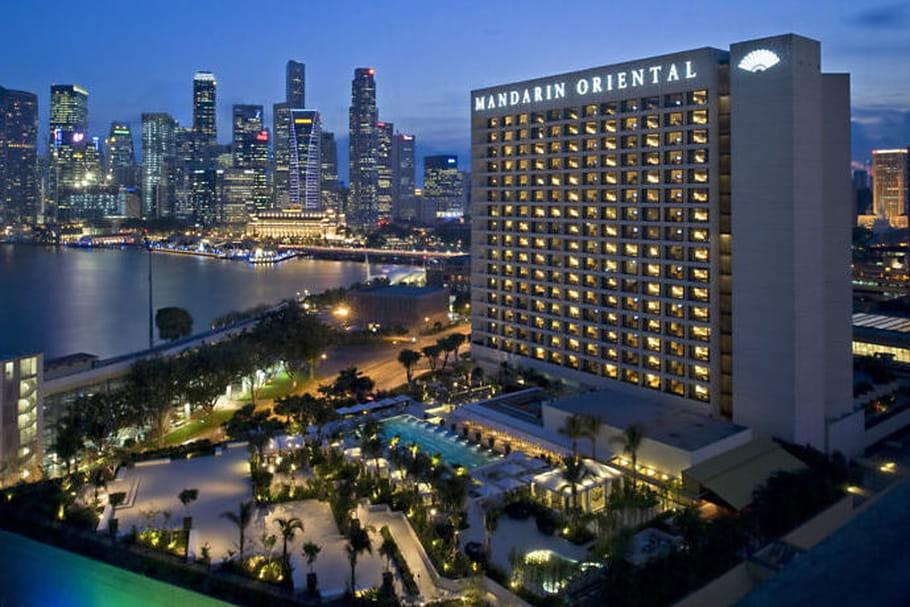 Le groupe d'hôtels de luxe, Mandarin Oriental, voit l'année 2015 en grand