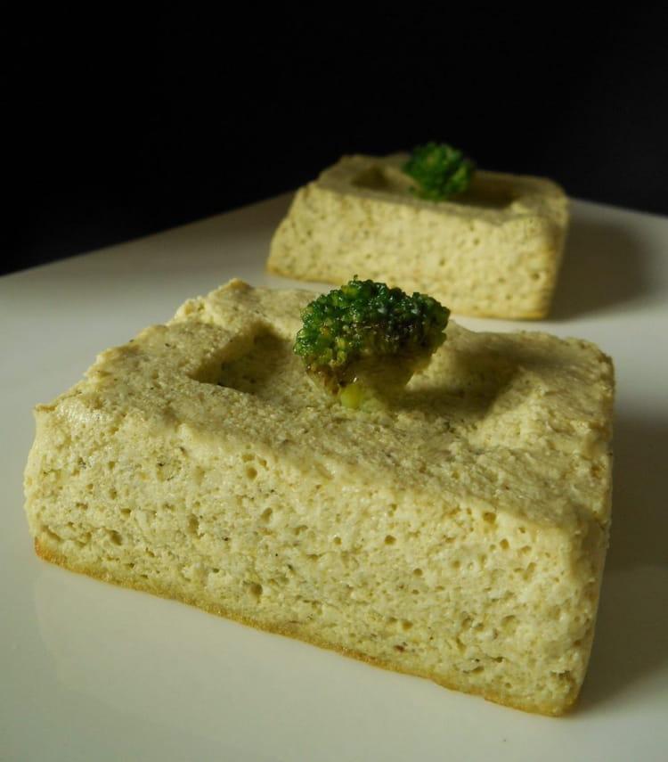 Recette de flan de brocolis parfum l 39 ail - Cuisiner des brocolis frais ...