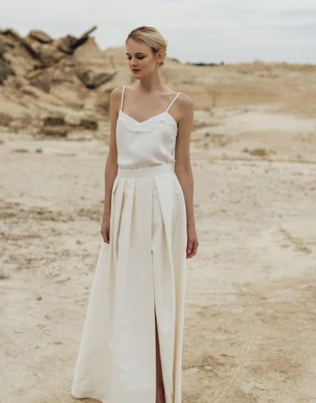 Robe de mariée Nola Mina, Atelier Anonyme