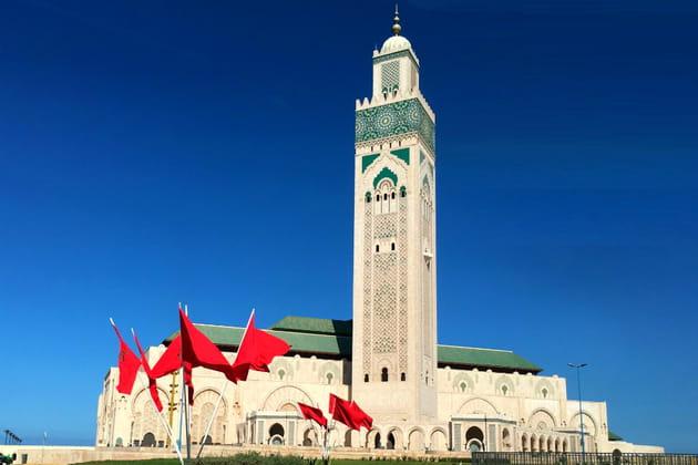 Visite de la célèbre Mosquée Hassan II