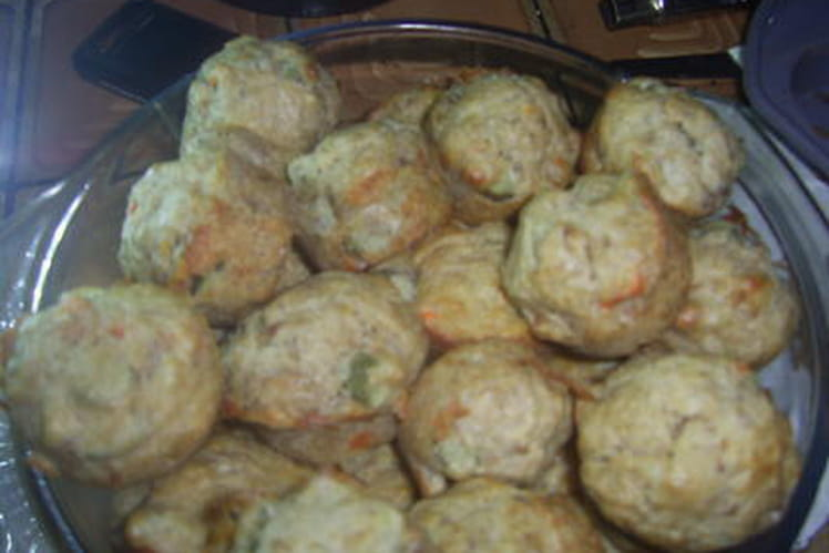 Muffins thon-cornichons