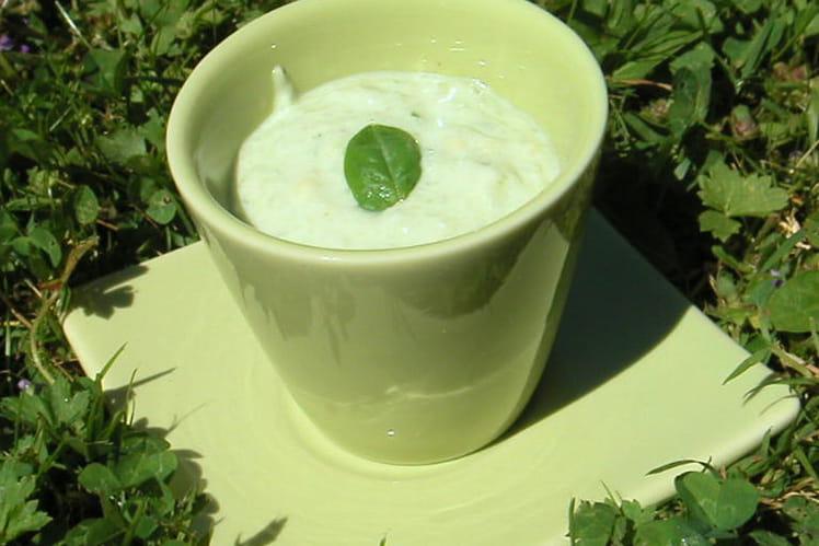 Soupe glacée d'été